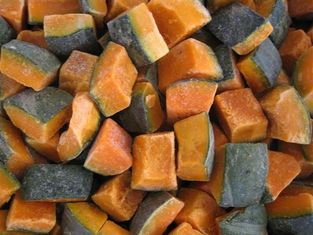 China Frozen Sweet Pumpkin Dice, blanched, variety of Ebis, origin of Heilongjiang, China supplier